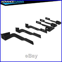 Fits 04-13 Silverado Crew Cab 89inch OE Style Black Nerf Bars Running Boards SS