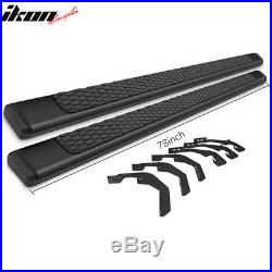 Fits 07-18 Chevy Silverado Double Cab 78inch Ram OE Style Nerf Bar Running Board