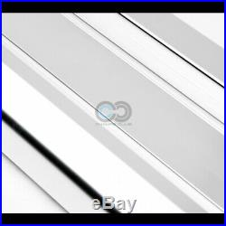 Fits 07-18 Chevy Silverado Extended Cab 6 Silver OE Aluminum Running Boards