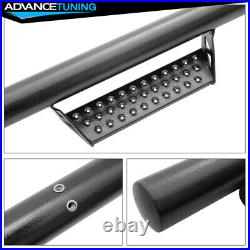 Fits 07-18 Chevy Silverado Extended Cab BCT Style Side Step Running Boards