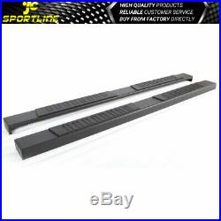 Fits 07-18 Chevy Silverado/GMC Sierra Extended Cab 78 in Running Boards Tuatured