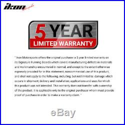 Fits 07-18 Chevy Silverado GMC Sierra Extended Cab IKON V1 Style Running Boards