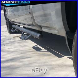 Fits 07-18 Chevy Silverado/ GMC Sierra Extended Cab Running Boards Nerf Bar