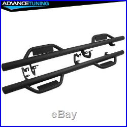 Fits 07-18 Chevy Silverado/ GMC Sierra Extended Cab Running Boards Nerf Bar