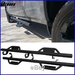 Fits 07-18 Chevy Silverado/ GMC Sierra Extended Cab Side Step Bar Nerf Bar