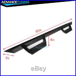 Fits 07-18 Chevy Silverado GMC Sierra Extended Cab Side Step Bar Running Boards