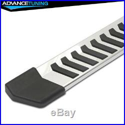 Fits 07-18 Silverado Crew Cab 89inch OE Style Black Nerf Bars Running Boards SS