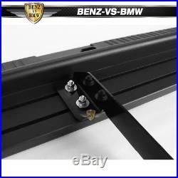 Fits 07-19 Chevy Silverado GMC Sierra Crew Cab 6 Side Nerf Bar Running Boards