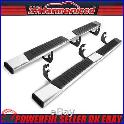 Fits 07-19 Chevy Silverado GMC Sierra Crew Cab 6 Side Step Bar Running Boards