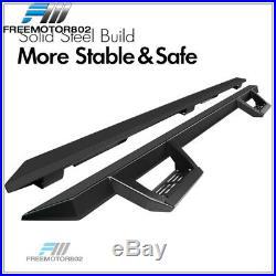 Fits 07-19 Silverado Sierra Extended Cab V2 Running Boards Side Step Nurf Bar