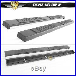 Fits 15-18 Chevy Colorado GMC Canyon Crew Cab 76inch Running Boards Black