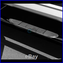 Fits 15-19 Colorado/Canyon Crew Cab 3 Blk Side Step Nerf Bars Running Boards hd