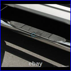 Fits 15-20 Colorado/Canyon Crew 3 Chrome Side Step Nerf Bars Running Boards HD