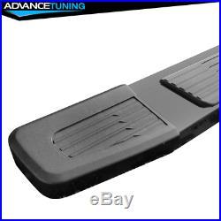 Fits 19-20 Chevy Silverado Sierra 1500 Crew Cab OE S6 Style Running Board Black