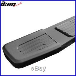 Fits 19-20 Chevy Silverado Sierra 1500 Crew Cab OE S6 Style Side Step Bar Black