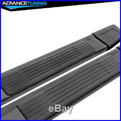 Fits 19-20 Chevy Silverado Sierra 1500 Extended Cab OE S6 Running Board Black