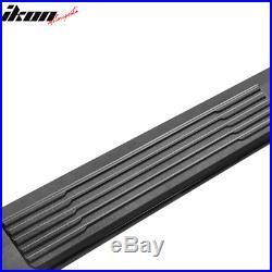 Fits 19-20 Chevy Silverado Sierra 1500 Extended Cab OE S6 Side Step Bar Black