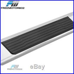 Fits 19-20 Silverado Sierra 1500 Crew Cab OE S6 Style Side Step Nerf Bar Silver