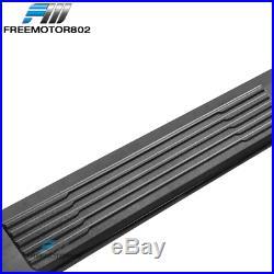 Fits 19-20 Silverado Sierra 1500 Extended Cab OE S6 Side Step Nerf Bar Black