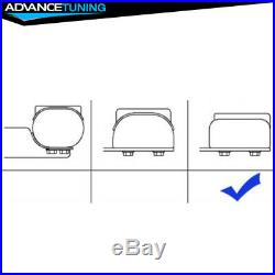 Fits 19 Chevy Silverado Crew Cab OE Style 5inch SS Side Rails Running Boards