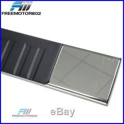 Fits 2019 Silverado/Sierra Crew OE Style 6 SS Side Step Bars Running Boards