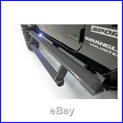 Fits 4Runner Wrangler (JK) ARIES 3025165 ActionTrac Powered Running Boards