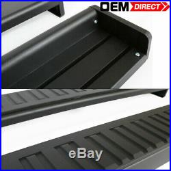 Fits 99-13 Chevrolet Silverado Extended Cab 76 Inch Pair Running Board Nerf Bar