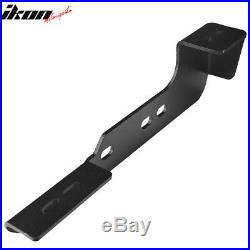 Fits 99-13 Chevy Silverado Double Cab Side Step Running Board Nerf Bar 78inch