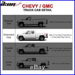 Fits 99-13 Chevy Silverado GMC Sierra Extended Cab Side Step Bar Running Boards