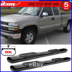 Fits 99-13 Silverado GMC Sierra Extended Cab 5 Inch Side Steps Running Boards