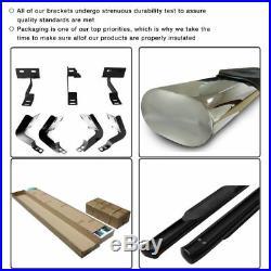 Fits 99-13 Silverado Gmc Sierra 1500 2500HD Extended Cab Running Boards