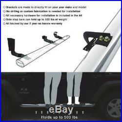 Fits 99 -13 Silverado Sierra 1500 2500 LD Regular CAB 3 Side Step Nerf Bar