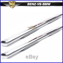 Fits 99-18 Chevy Silverado GMC Sierra Extended Cab 5 Oval Running Board Pair