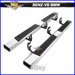 Fits 99-19 Chevy Silverado GMC Sierra Crew Cab 83 Side Nerf Bar Running Boards