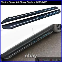 Fits for Chevrolet Chevy Equinox 2018-2020 Door Side Step Running Board Nerf Bar
