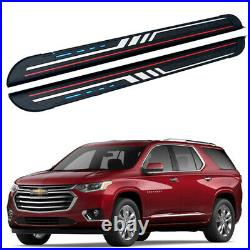 Fits for Chevrolet Traverse 2018-2022 Fix Running Board Side Step Pedal Nerf Bar