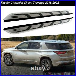 Fits for Chevrolet Traverse 2018-2022 Side Step Running Board Nerf Bar Protector