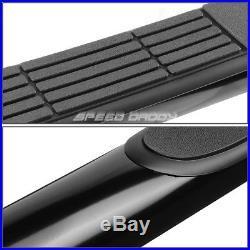 For 00-13 Suburban/avalanche/yukon Reg Black 3 Side Step Nerf Bar Running Board