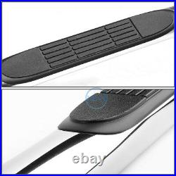 For 00-14 Avalanche Yukon Crew Cab 3 Stainless Steel Step Bar Running Boards
