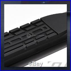 For 00-14 Tahoe/Yukon/02+ Escalade 4 Black Side Step Nerf Bars Running Boards