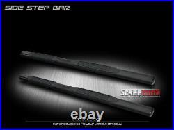For 00-14 Tahoe/Yukon/02+ Escalade 4 Heavyduty Blk Side Step Bar Running Board