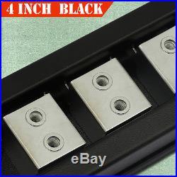 For 00-18 CHEVROLET Tahoe 4 Nerf Bar Side Bar Running Board Side Step BLACK H