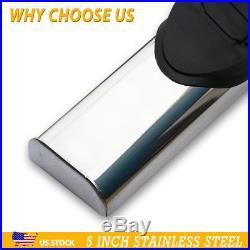 For 00-18 CHEVROLET Tahoe 5 Nerf Bar Side Bar Running Boards Side Step Chrome A