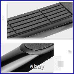 For 00-19 Silverado/Sierra Regular Cab 3 Side Step Nerf Bar Running Board Black