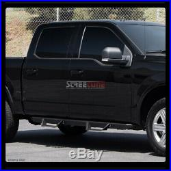 For 04-12 Colorado/Canyon Crew Matte Black Modular Drop Step Bars Running Boards