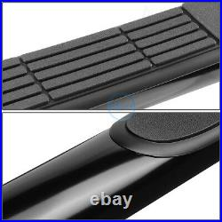 For 04-12 Colorado Canyon Extended Cab 3 Curved Side Step Bar Running Boards