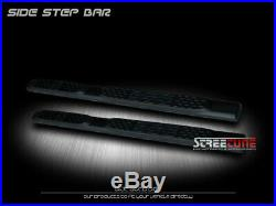 For 04-12 Colorado/Canyon Extended Cab 5 Matte Blk Side Step Bar Running Board