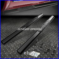 For 04-12 Colorado/canyon Reg Cab 4 Oval Black Side Step Nerf Bar Running Board