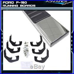 For 07-17 Chevy Silverado Sierra 1500 Ext Cab 5inch Side Step Bar Running Boards