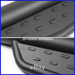 For 07-17 Silverado/sierra Extended Cab 3 Black Step Bar Nerf Running Boards